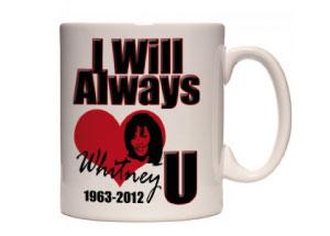 Gli oggetti promozionali di Whitney Houston: ultimo omaggio alla