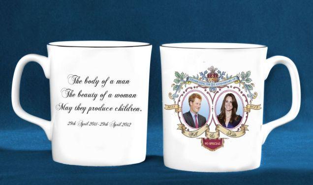 Cosa ci fa Harry sulla tazza personalizzata per il
