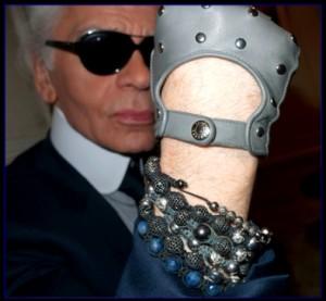 braccialetto shamballa Karl Lagerfeld
