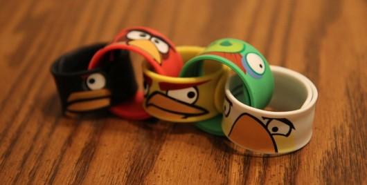 braccialetto slap angry birds