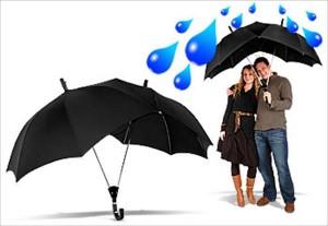 ombrello personalizzato doppio