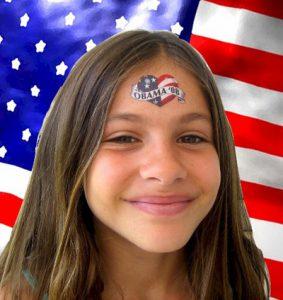 Tatuaggi temporanei Obama 2008