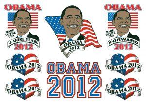 Tatuaggi temporanei Obama