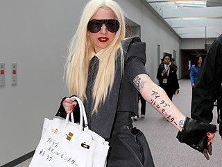 lady gaga tatuaggi temporanei