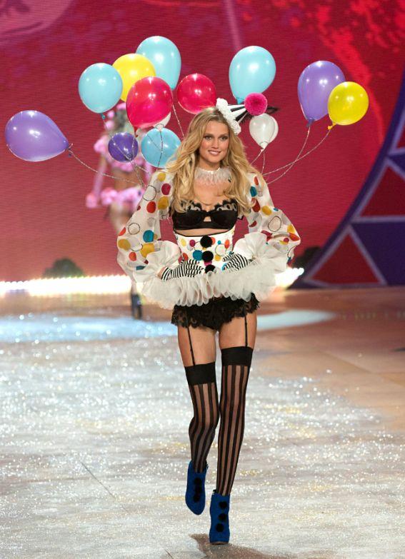 Victoria's secret cede al fascino dei palloncini stampati!
