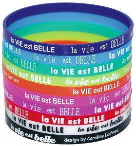 Come personalizzare i braccialetti silicone ?