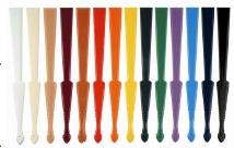 colori del telaio in plastica