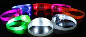 Braccialetti LED personalizzabili