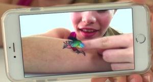 Tatuaggi temporanei che prendono vita!
